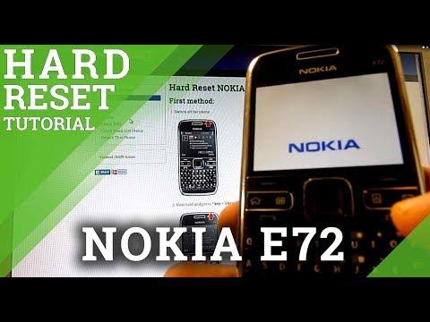 Hard Reset NOKIA E72 - HardReset info