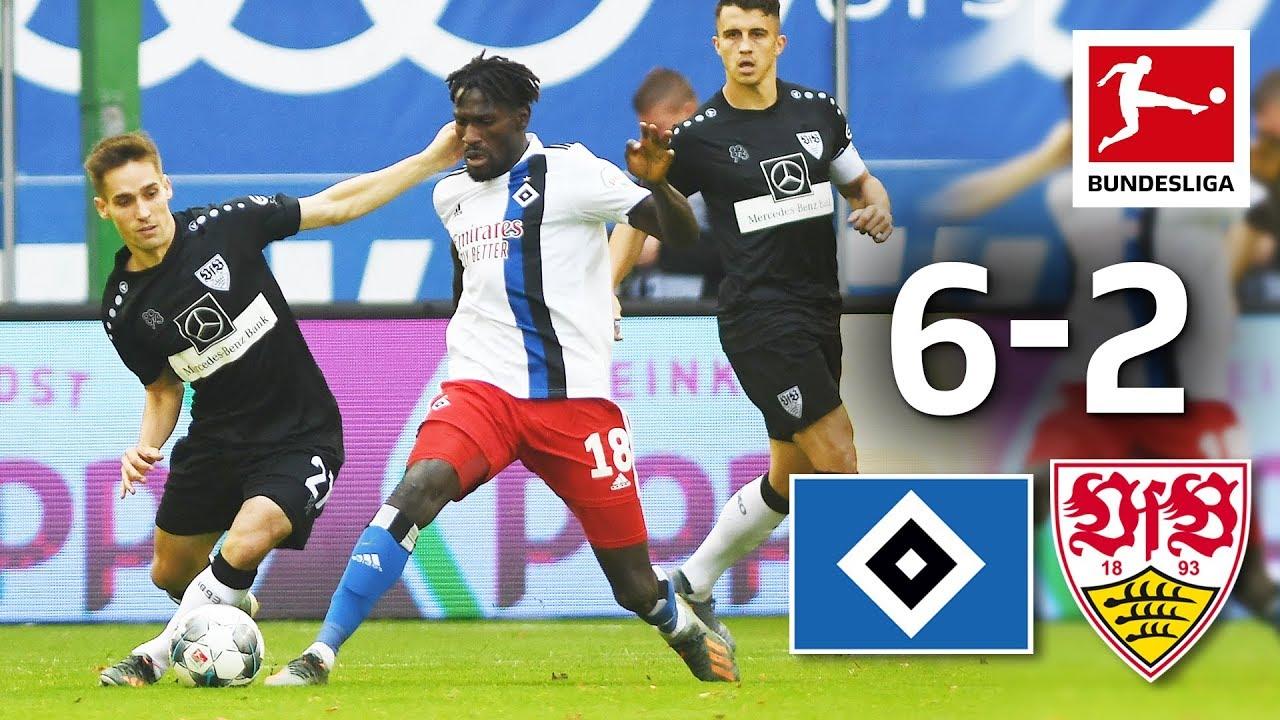 8 Goal Spectacle In Hamburg Hamburger Sv Vs Vfb Stuttgart I 6 2 I All Goals Youtube