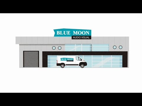 Animated film Blue Moon products / AV support