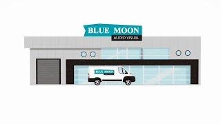 Animierte film-Blue Moon products / AV-Unterstützung