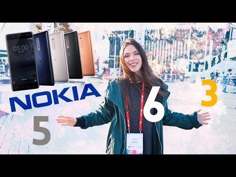 NOKIA 3,5,6: ФИНСКАЯ РОБО-ТРОЙКА – MWC 2017