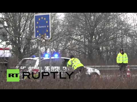 Denmark: Strict border controls introduced at German frontier