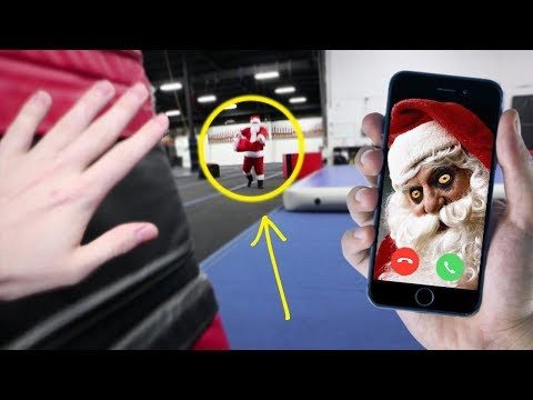 FACETIMING SANTA AT 3:00 AM ON CHRISTMAS DAY!! DO NOT CALL SANTA ON FACETIME AT 3AM!!