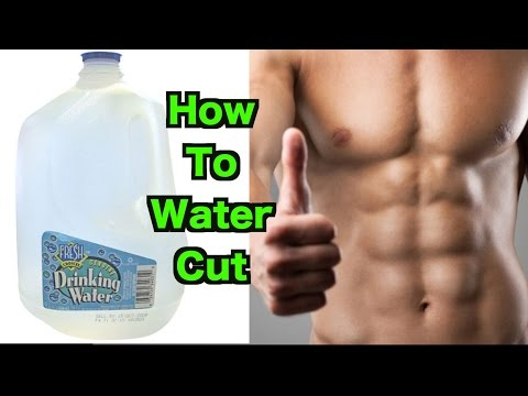 How To Water Cut   Lose 10+ lbs in ONE Day