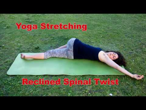 SPOVE Sportmotivation: Yoga Streching - Reclined Spinal Twist