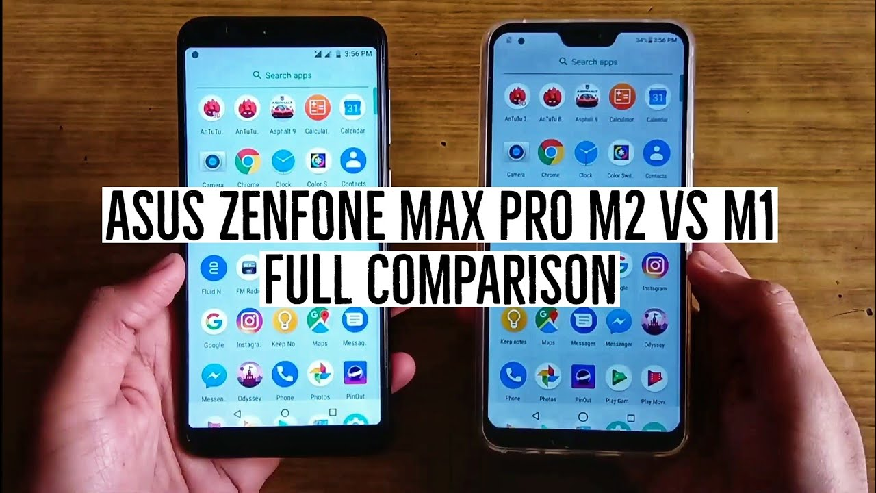 Asus Zenfone Max Pro M2 vs Max Pro M1 Dispaly, Build, Battery, Camera,  Performance Full Comparison!
