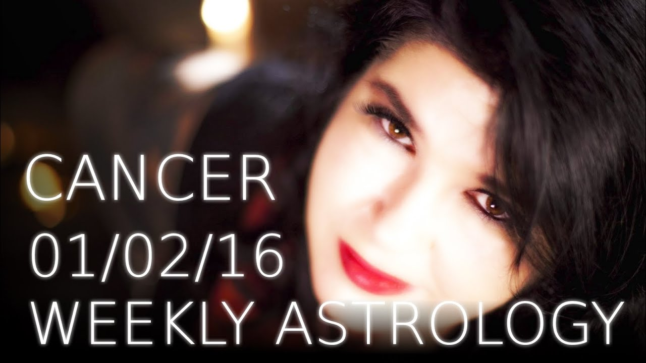 cancer weekly astrology 1st february 2016 with michele knight youtube. Black Bedroom Furniture Sets. Home Design Ideas