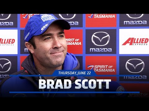 June 22, 2017 - Brad Scott media conference