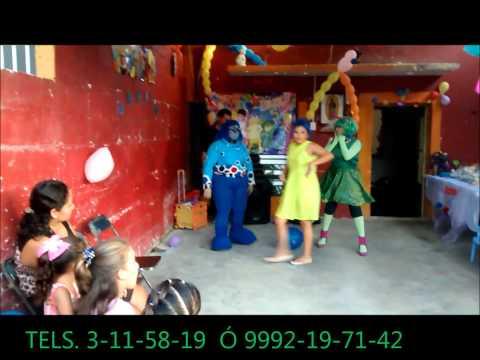 h.l show infantiles merida yucatan  happy land INTENSAMENTE