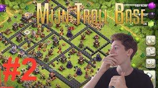 MIJN TROLL BASE LATEN AANVALLEN DOOR KIJKERS! DEEL 2! Clash of Clans NEDERLANDS NL