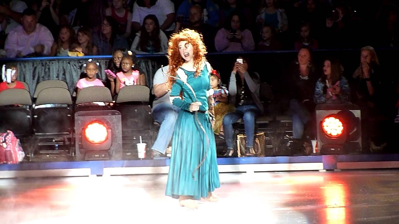 Disney on Ice: Rockin' Ever After 2014 HD - Merida Part 1 ...