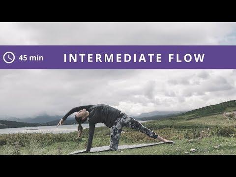 Christian Yoga Practice: Intermediate Flow in Scotland