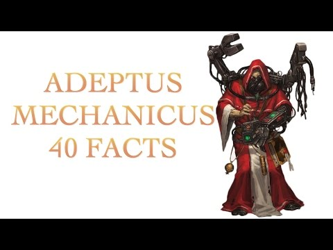 40 Facts and Lore about the Adeptus Mechanicus  Warhammer 40k
