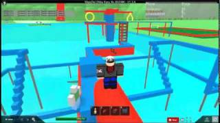 Roblox Trying out the Wipeout Obby