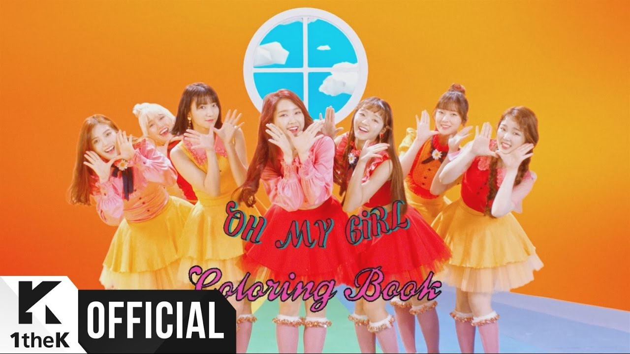MV] OH MY GIRL(오마이걸) _ Coloring Book(컬러링북) - YouTube