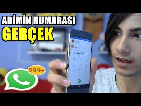 ABİMİN TELEFON NUMARASINI DAĞITTIM! (GERÇEK)