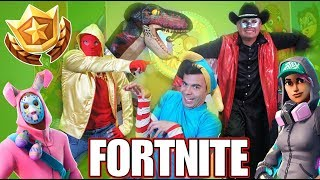 Fortnite Dances in Real Life / Fortnite Dances / Manito and Maskarin