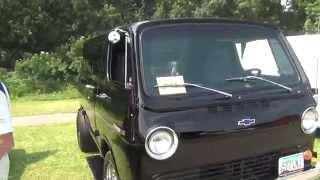 1966 Chevy Show Winning Van