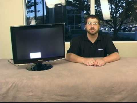 how to perform a self test on any samsung monitor youtube. Black Bedroom Furniture Sets. Home Design Ideas