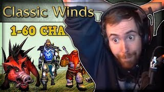 """Asmongold Reacts to """"Can you level 1-60 Killing Only Boars?"""" by Classic Winds"""