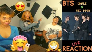 BTS - Dimple + Pied Piper LIVE - KITO ABASHI REACTION