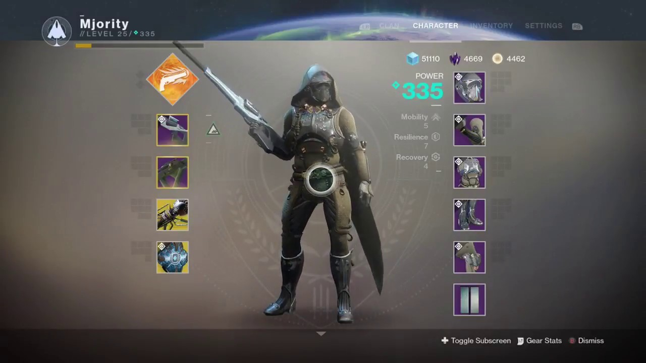 Destiny 2 Full World Eater Raid Lair Sets