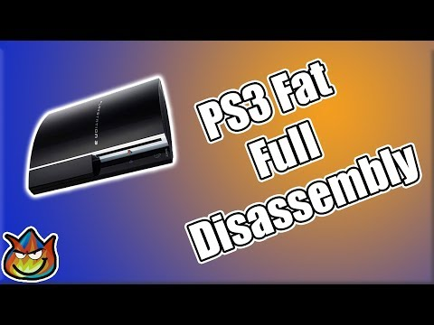 How To Take Apart/Clean A Fat PS3