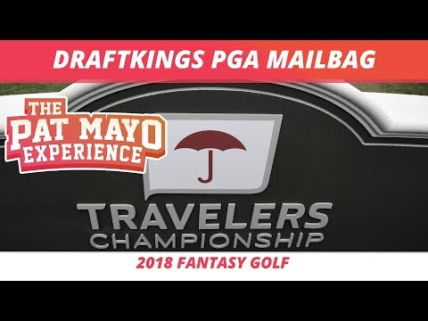 2018 Fantasy Golf Picks - DraftKings Travelers Championship Q and A & Viewer Chat Replay