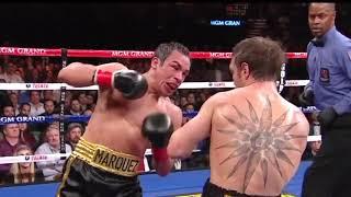 HUGGING IS ILLEGAL | Juan Manuel Marquez vs Michael Katsidis | highlight