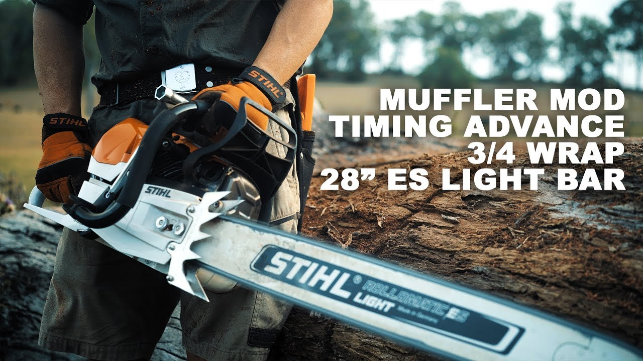 STIHL MS 462 Muffler Mod & Timing Advance 💥 - Travel Online
