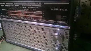 ВЭФ VEF 202 , VEF 206, VEF 12    FM приемник (планка),  готовая модель. (отлично работает)