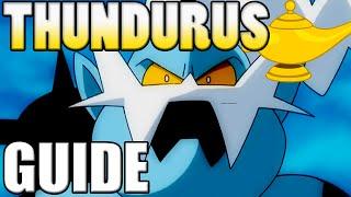 Pokémon How To Use: Thundurus! Thundurus Moveset - Pokemon Omega Ruby and Alpha Sapphire / X&Y Guide