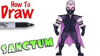 How to Draw Sanctum | Fortnite