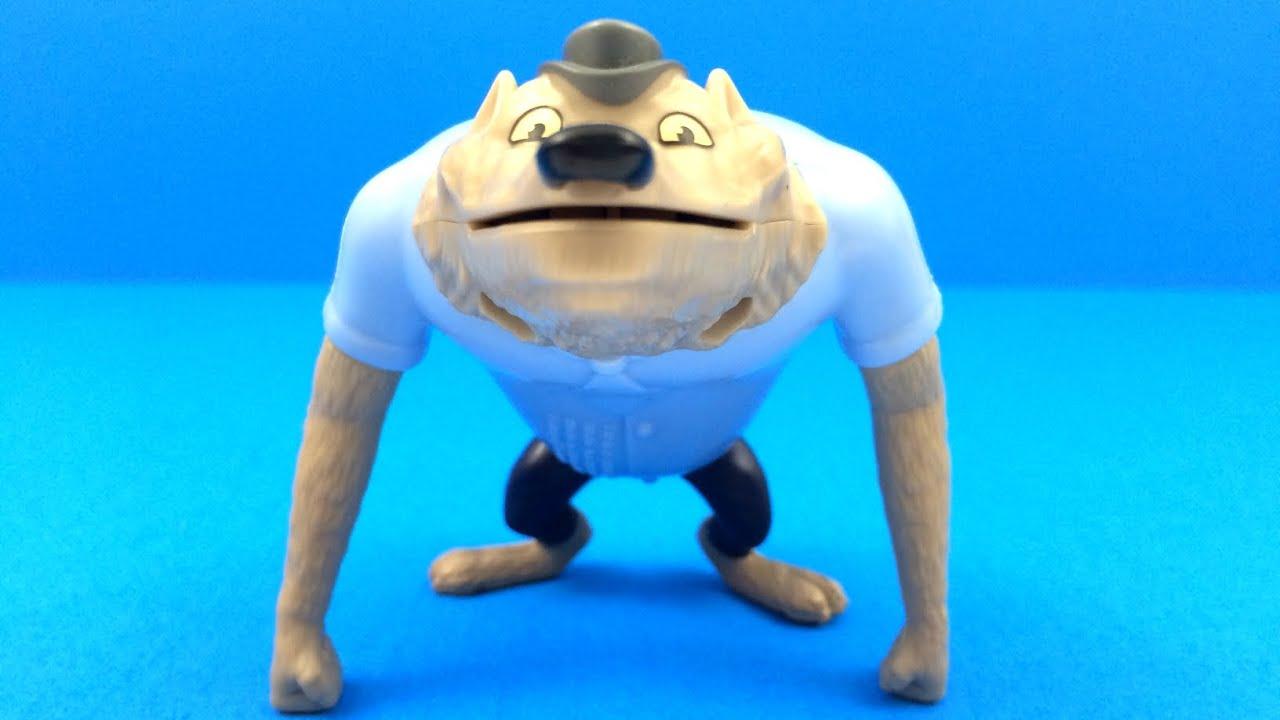 Wayne Werewolf 2015 McDonalds Hotel Transylvania 2 Toy 5 Complete Set Of 6 Happy Meal Kids Toys