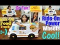 Food Truck Toy. Kitchen Playset Playtime. Food Truck Seller Pretend Play. Food Truck Power Wheels