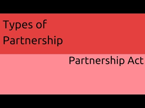 What are Types of Partnership | General Nature of Partnership | CA CPT | CS & CMA Foundation