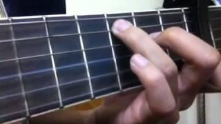 Bước chân lẻ loi guitar cover - Văn Thắng