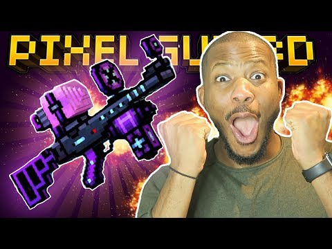 YAY! WE CRAFTED EPIC VOID RAY RIFLE!! | Pixel Gun 3D