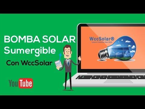 BOMBA SOLAR sumergible | AGUA totalmente GRATIS thumbnail