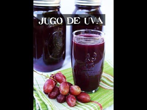 Cómo conservar jugo de uva por 2 o 3 años.