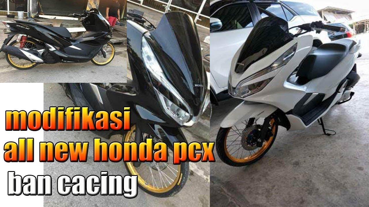 Modifikasi Honda PCX 150 Lokal Facelift Ala Thailook Pakai Velg Jari