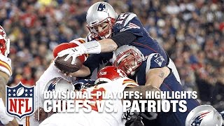 Chiefs vs. Patriots | Divisional Playoff Highlights | NFL