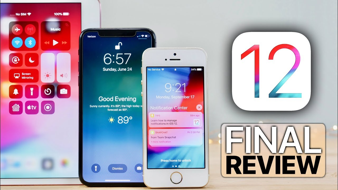 iOS 12 Review! Finally Released, Should You Update?