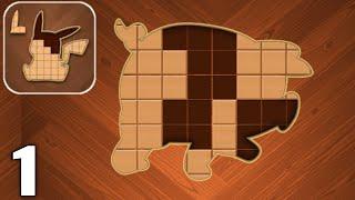 Jigsaw Wood Block Puzzle - Gameplay Walkthrough Part 1 All Levels 1-25 (Android & iOS) screenshot 1