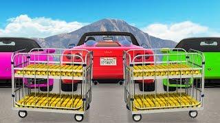 Getting Free Supercars Using Fake Gold Bars.. (GTA RP)