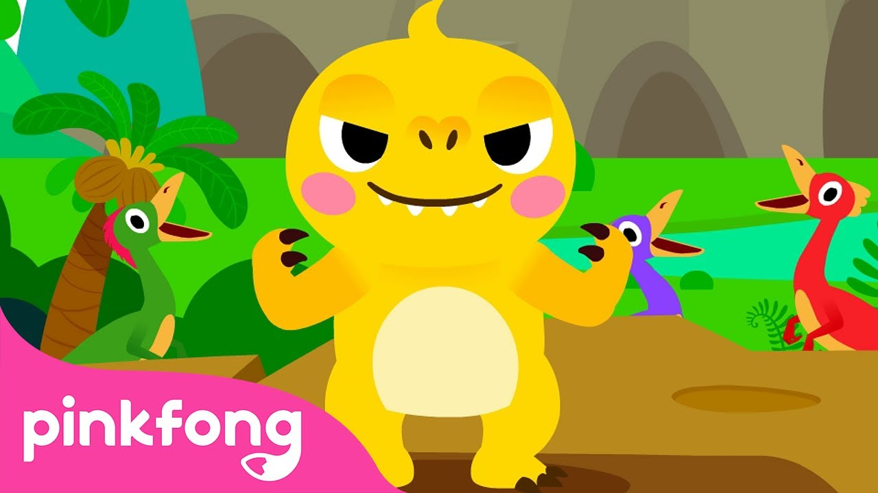 I'm a Baby T-Rex | Baby T-Rex Songs | Dinosaur Songs | Pinkfong Songs for Children
