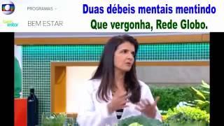 Doutor Lair Ribeiro X Maria Silvia Lavrador Rede Globo Faz Anúncio de Veneno