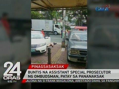 Buntis na assistant special prosecutor ng Ombudsman, patay sa pananaksak