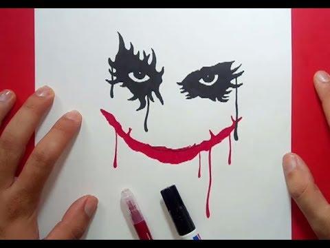 Como Dibujar A El Joker Paso A Paso 2 Batman How To Draw The Joker 2 Batman