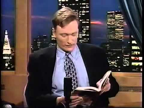 """David Letterman's surprise appearance on """"Late Night with Conan O'Brien"""""""